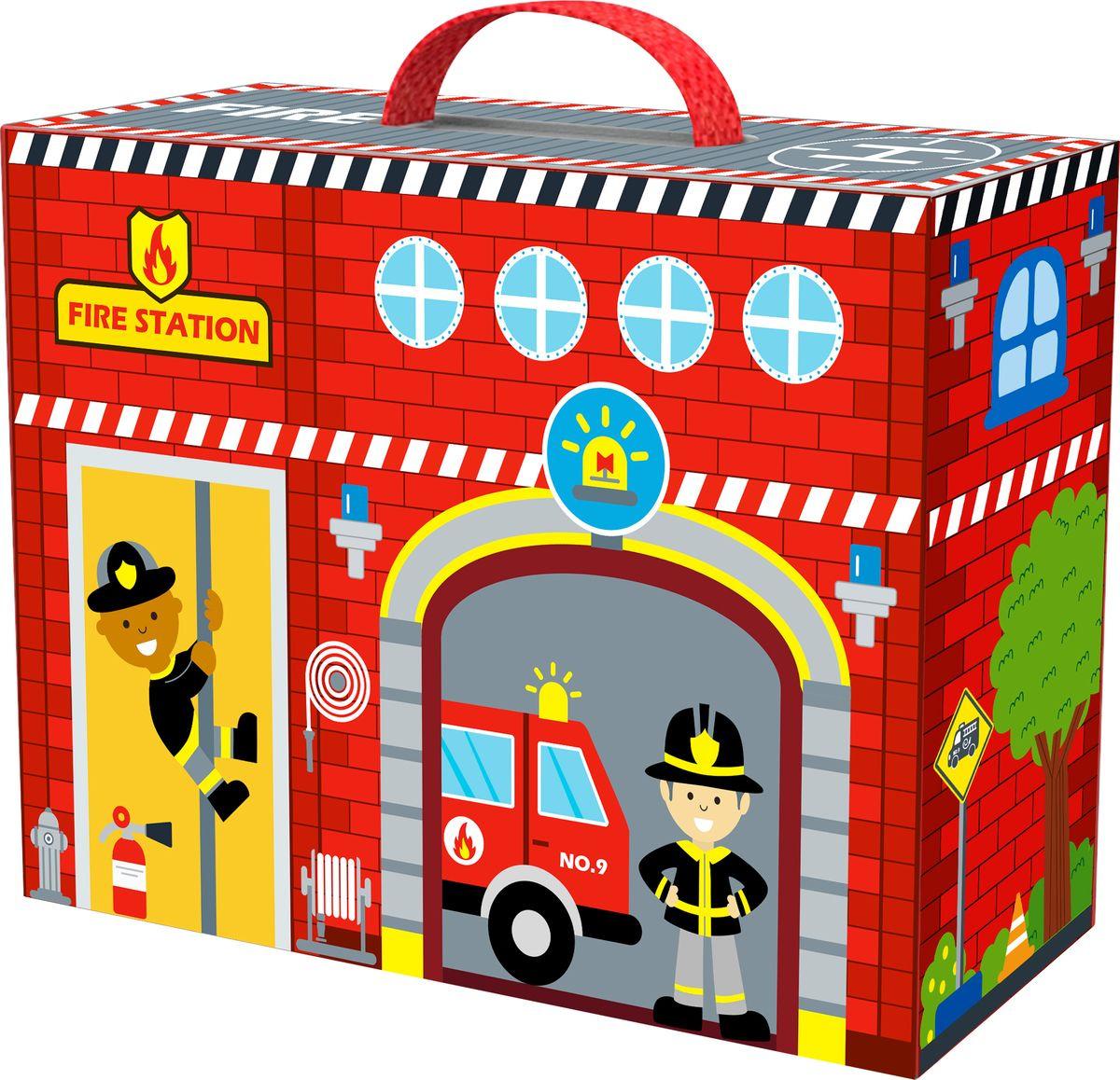 Развивающая игрушка Tooky Toy Пожарная станция TY203
