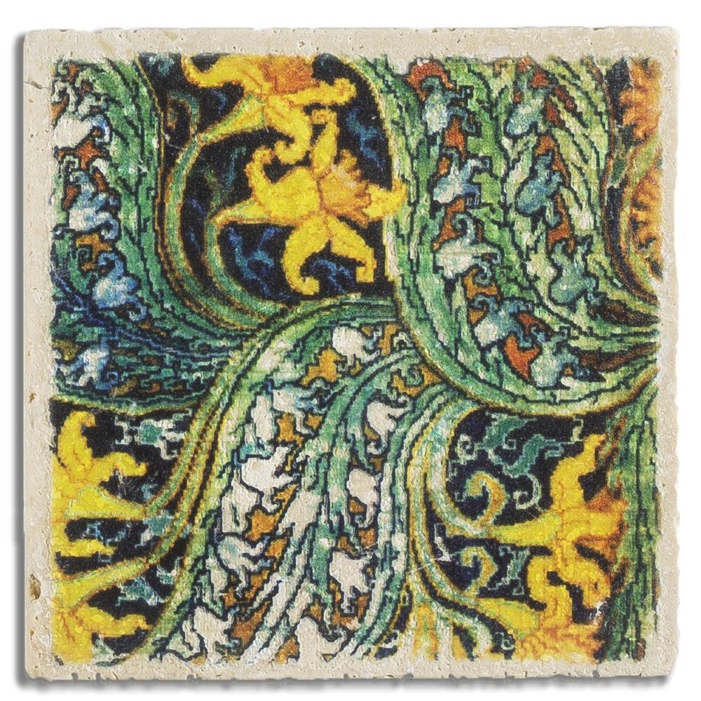 Плитка декоративная Vintage art company 10x10 moyou london плитка для стемпинга zodiac 14