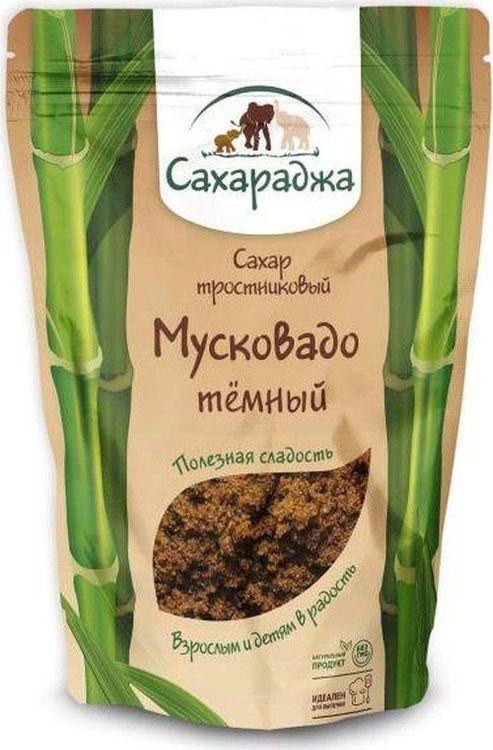 Сахар Здороведа Мусковадо Сахараджа, тростниковый, темный, 450 г