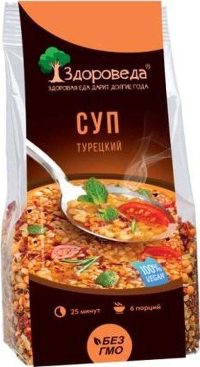 Смесь для супа Здороведа Турецкая, с булгуром и красной чечевицей, 250 г можно ли беременным щавелевый суп