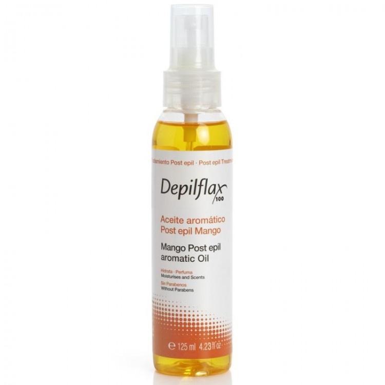 Масло после депиляции Depilflax100 Mango Oil (арт. 901264D), с витамином Е, 125 мл средства для ухода за кожей после эпиляции
