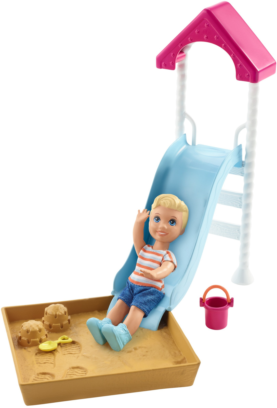 Игровой набор с куклой Barbie Игра с малышом, FXG94_FXG96