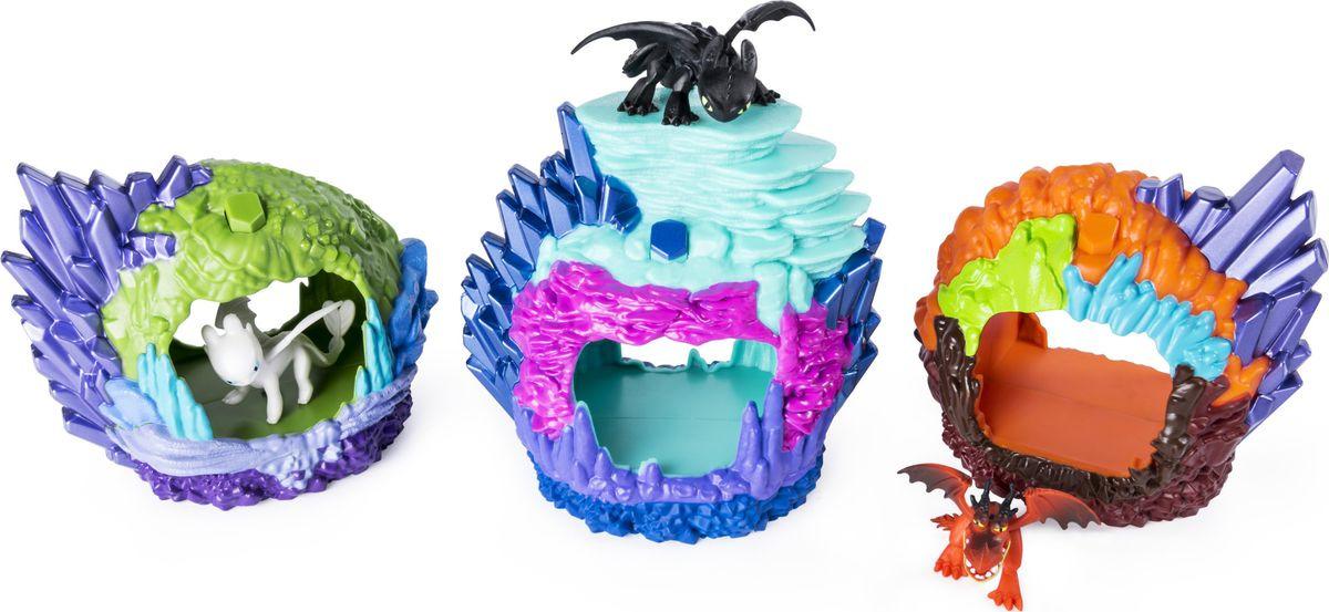 """Набор игровой Dragons """"Дракон в пещере"""", 6045086, с УФ-подсветкой, высота 12 см"""
