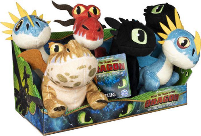 Игрушка мягкая Dragons Драконы, 66606, высота 17,5 см, в ассортименте цена