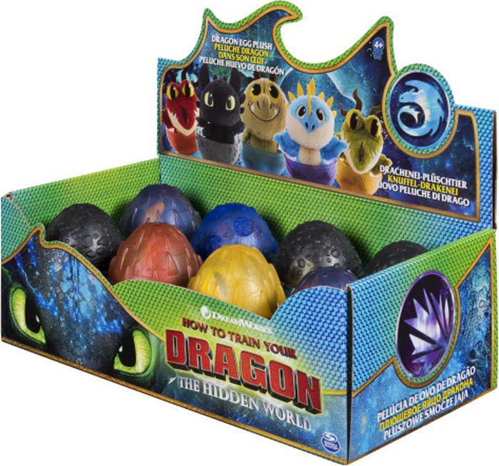 """Игрушка мягкая Dragons """"Дракон в яйце"""", 6045084, в ассортименте, высота 10 см"""