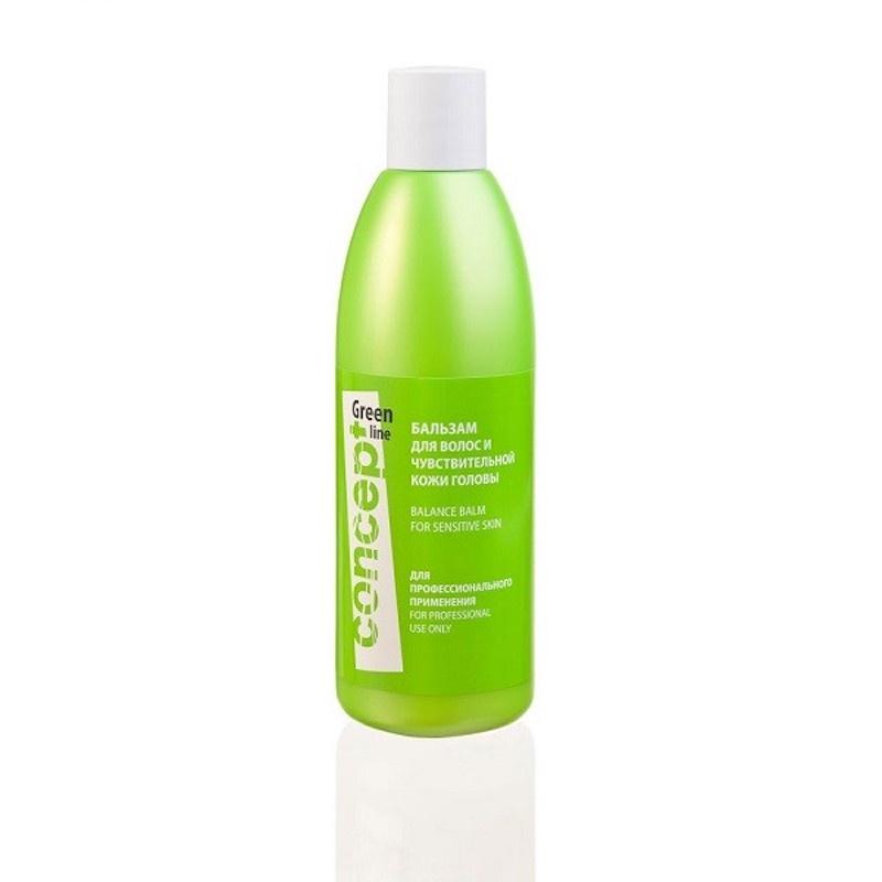 Бальзам для чувствительной кожи головы Balance balsam for sensitive skin 300 мл Concept 38205 крем для кожи головы concept concept co066lwboki7