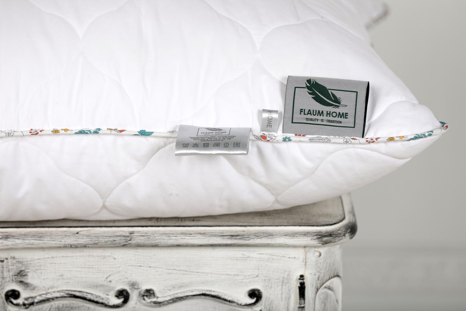 Подушка FLAUM HOME NATURE/НАТУРЕ, белый недорго, оригинальная цена
