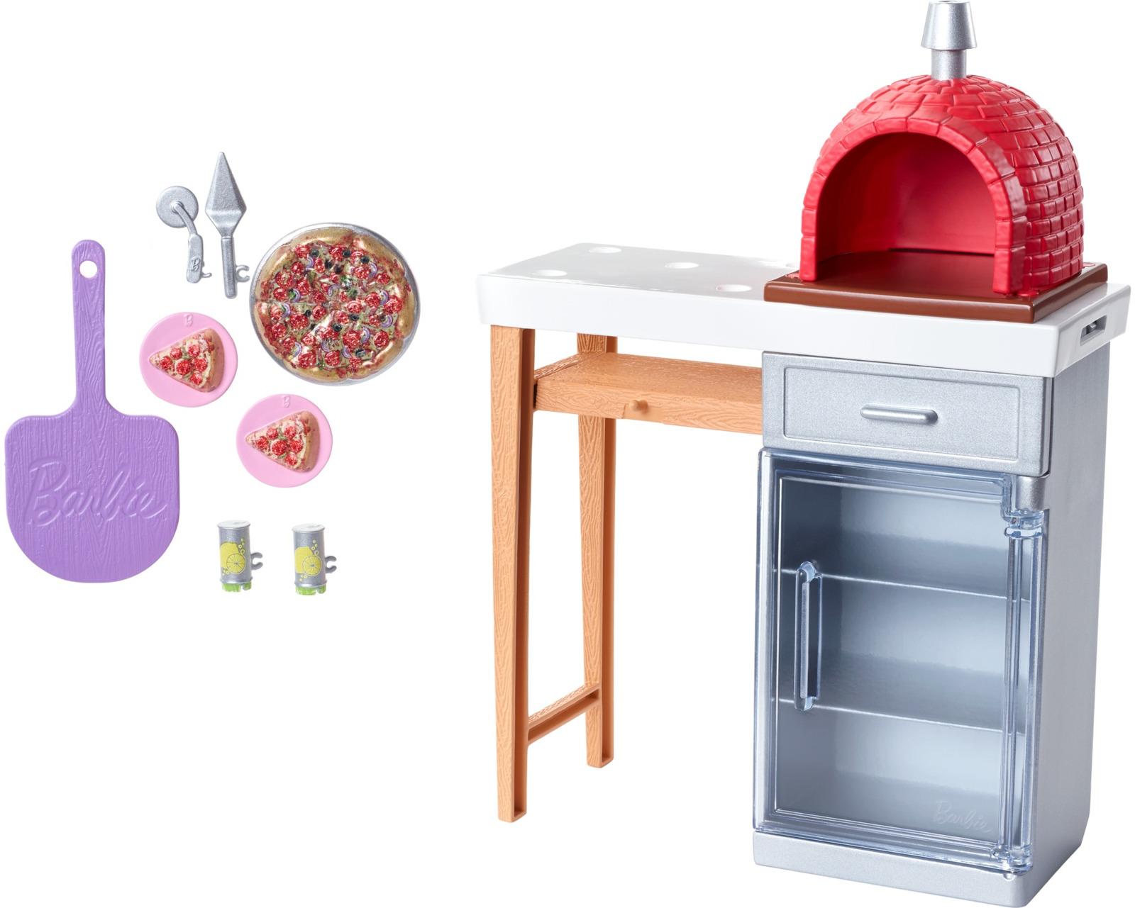 Фото - Мебель для кукол Barbie Отдых на природе, FXG37_FXG39 наборы для пикника
