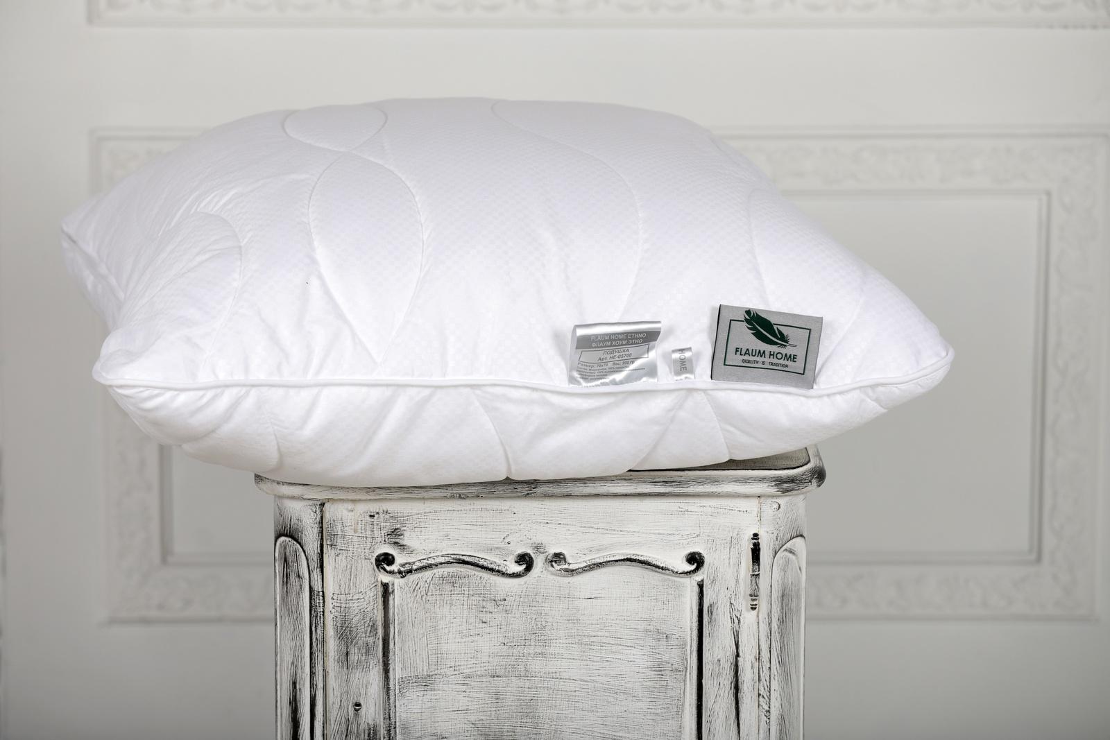 Подушка FLAUM HOME ETHNO/ЭТНО, белый недорго, оригинальная цена