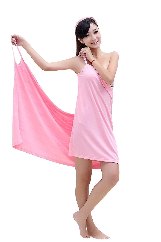 Полотенце банное Blonder Home Платье-полотенце TOWEL-02, TOWEL-02, розовый полотенце банное квк что