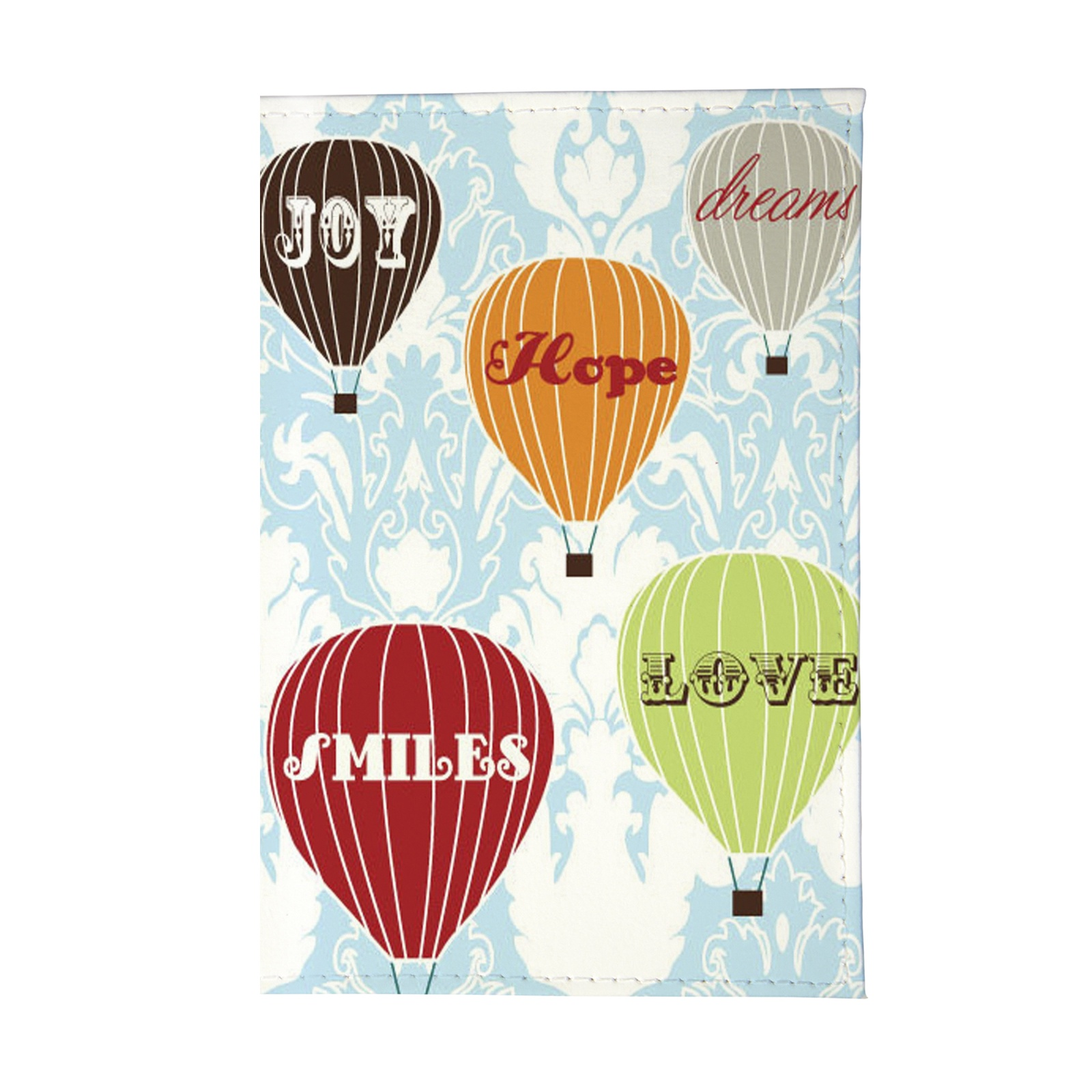 Обложка для паспорта Mitya Veselkov подарочный сертификат полет на воздушном шаре для двоих