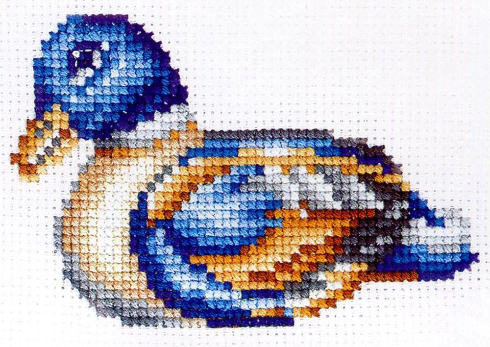 Набор для вышивания Сделай своими руками Статуэтки. Утка счетным крестом, 901378, 10 х 12 см с04 символы богатство сделай своими руками сделай своими руками