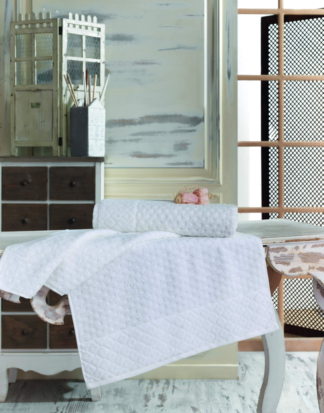 Полотенце махровое 50х90 DELTA (белое) полотенце махровое 50х90 см brielle полотенце махровое 50х90 см