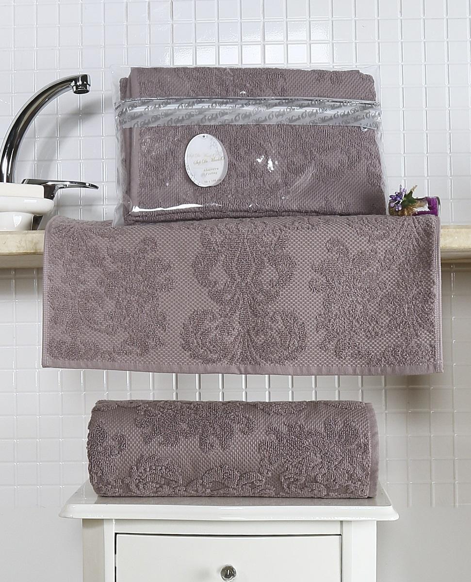 Полотенце 50х100 жаккард ALMEDA полотенца togas полотенце тренд цвет коричневый 50х100 см