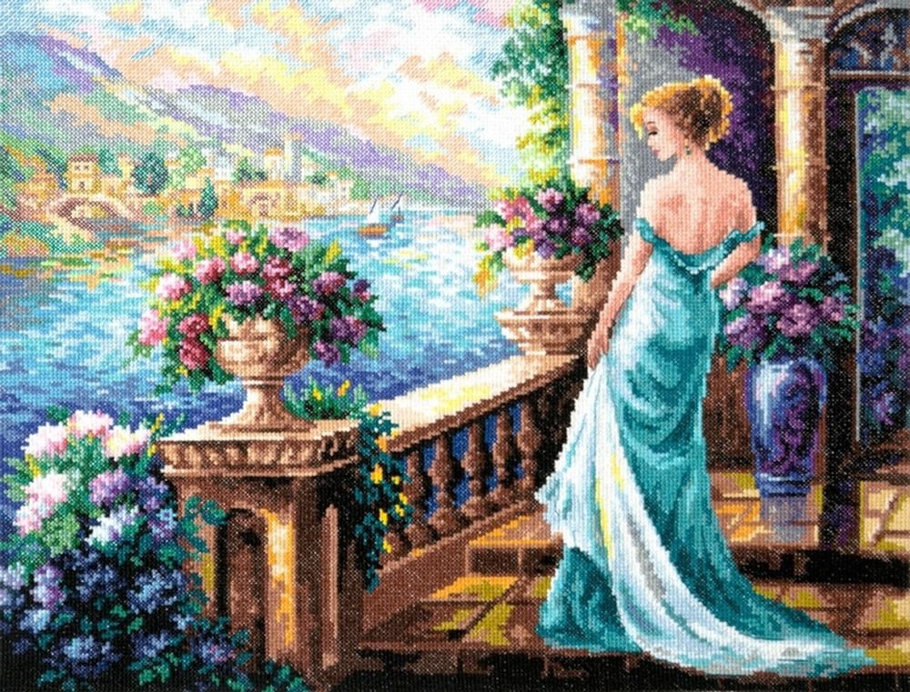 """Набор для вышивания Чудесная игла """"Моя Богиня!"""" счетным крестом, 505670, 40 х 32 см"""