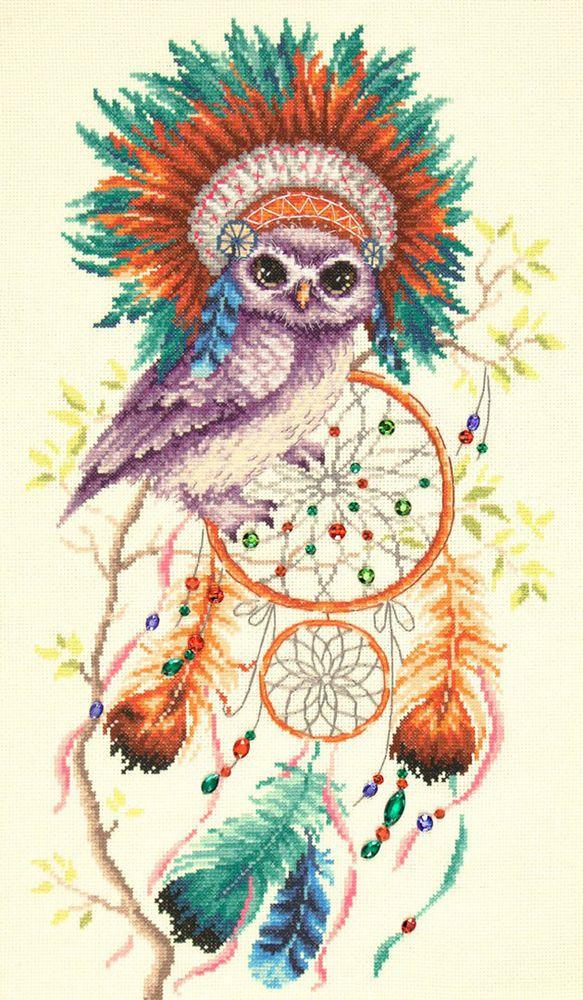 Набор для вышивания Чудесная игла Дивный сон счетным крестом, 553241, 27 х 50 см игла для татуировок blue stone 50 1rl 3rl 5rl 7rl 9rl 1205rl
