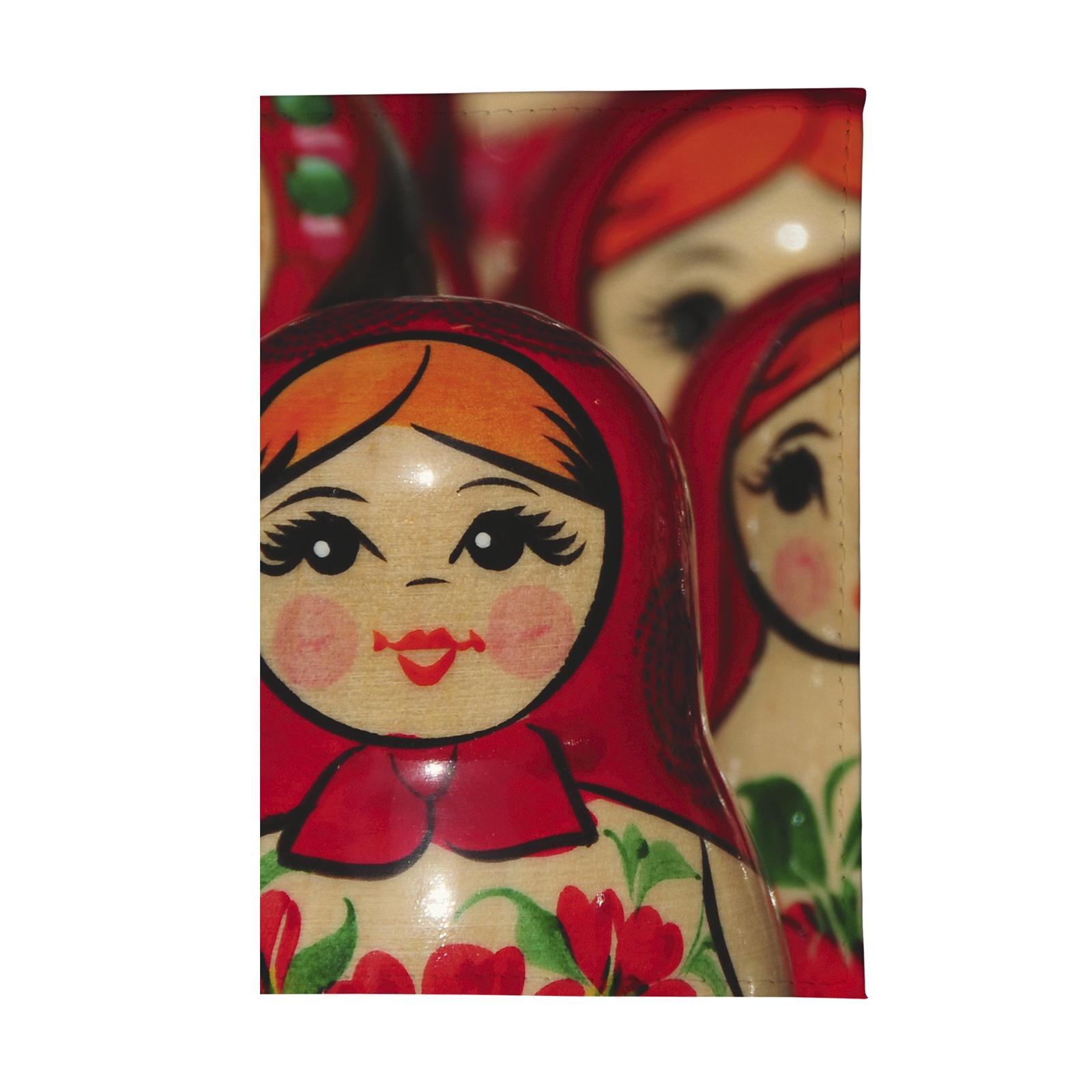 Обложка для паспорта Mitya Veselkov OZAM, красный, зеленый, коричневый очки солнцезащитные женские mitya veselkov цвет коричневый os 18 037