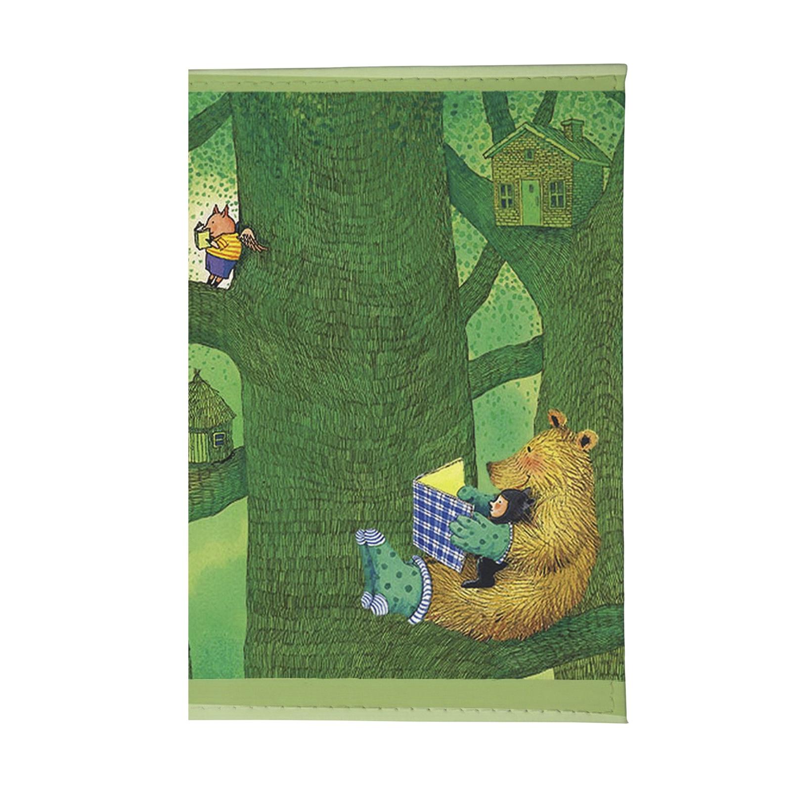 цена на Обложка для паспорта Mitya Veselkov OZAM, зеленый