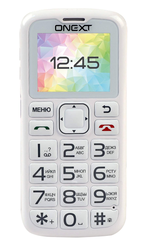Мобильный телефон Onext Care-Phone 5, 71125 мобильный телефон onext care phone 6 белый