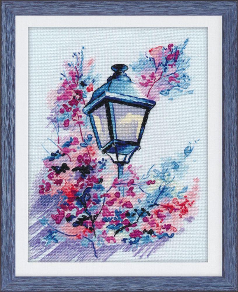 Набор для вышивания Овен Вечерний свет счетным крестом, 553182, 24 х 18 см набор для вышивания крестом овен наш цветочек 23 х 24 см