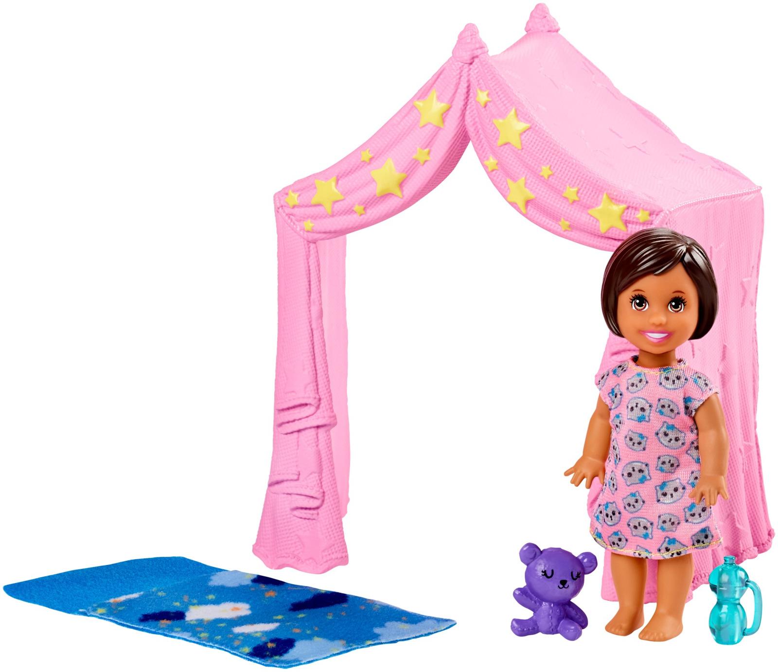Игровой набор с куклой Barbie Игра с малышом, FXG94_FXG97 цена