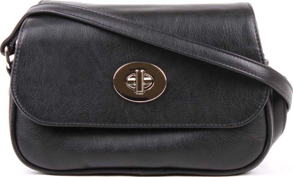 Сумка кросс-боди женская Медведково, 18с4261-к14, черный сумка шоппер женская медведково цвет темно синий 16с3492 к14