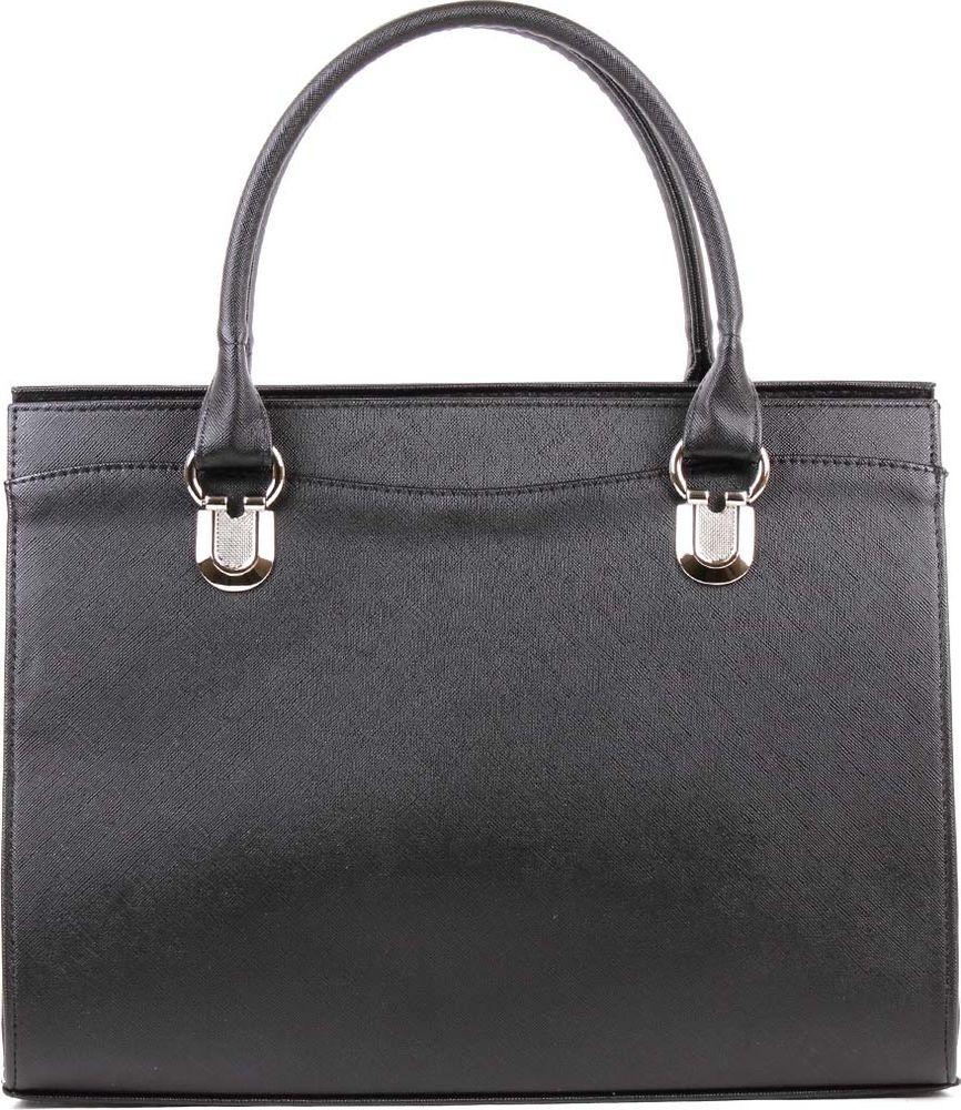 Сумка женская Медведково, 18с0910-к14, черный сумка женская медведково цвет серебристый 19с0103 к14