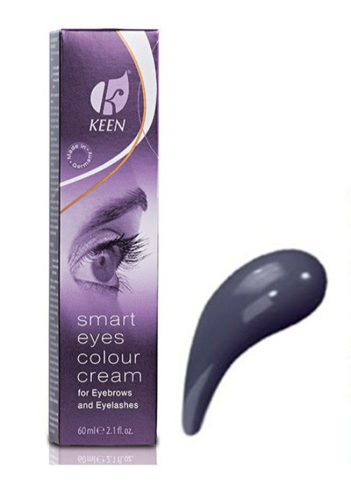 Краска для бровей и ресниц 60 мл, Графит (SMART EYES, Graphit) KEEN 69503161195-69503161Выразительный и стойкий (до 8 недель) макияж для глаз. Особо мягкая и щадящая рецептура. pH: 8,2 - 9,2