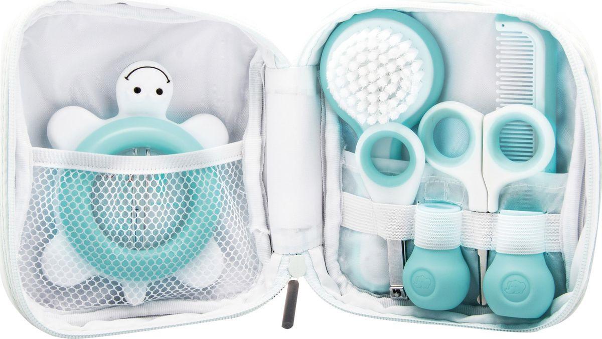 Набор по уходу за малышом Bebe Confort, 3106201100, 5 предметов, голубой, белый bebe confort bebe confort набор аксессуаров по уходу за малышом 0 розовый