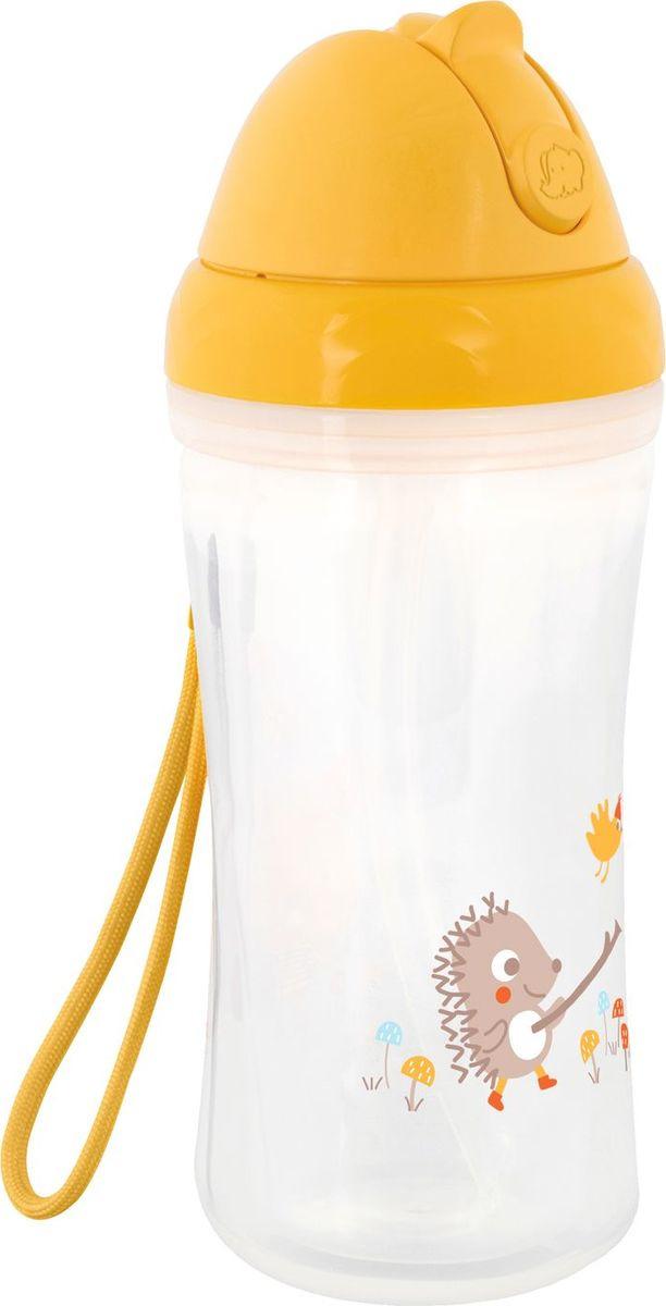 Поильник-бутылочка Bebe Confort, 3105205100, универсальная, от 15 месяцев, 260 мл, желтый