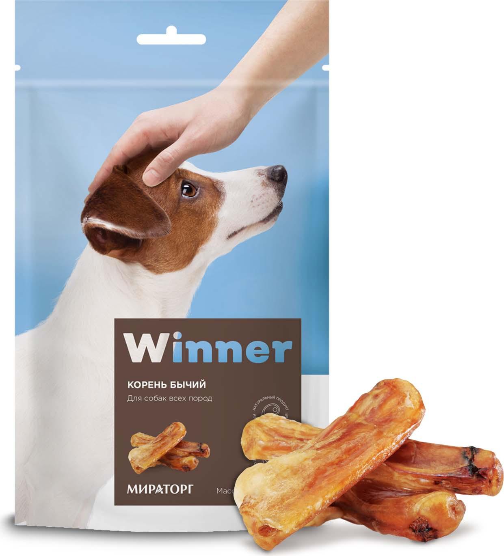 Лакомство Winner для собак, корень бычий, 160 г