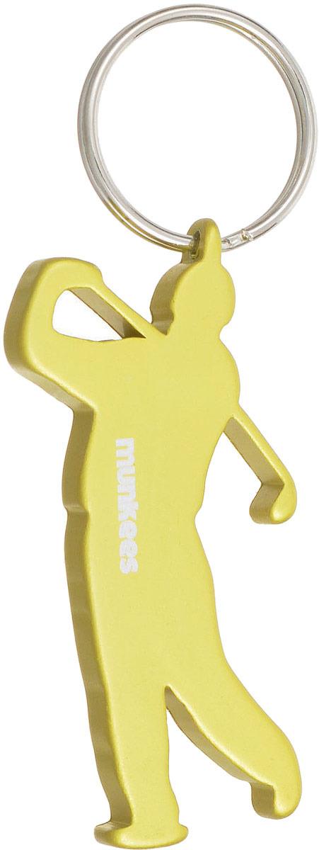 Брелок-открывалка Munkees Гольфист, цвет: желтый брелок открывалка munkees стандартная цвет желтый
