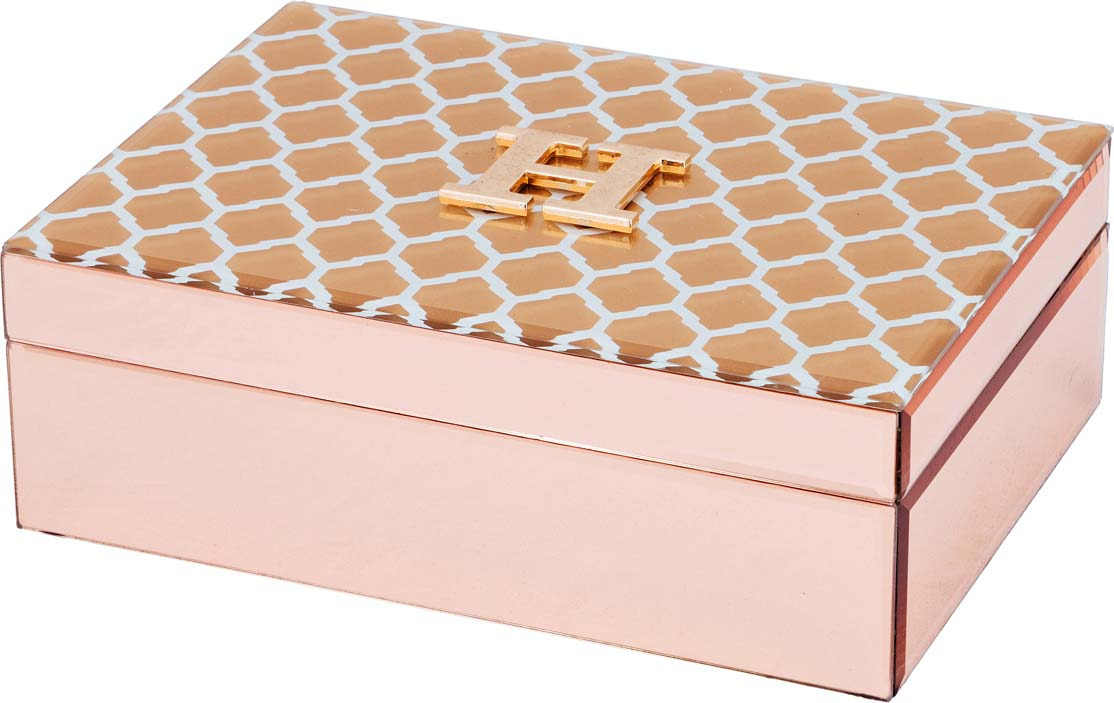 цена Шкатулка Lefard, 1706,021, розовый, 24,5 х 17,5 х 8,5 см онлайн в 2017 году