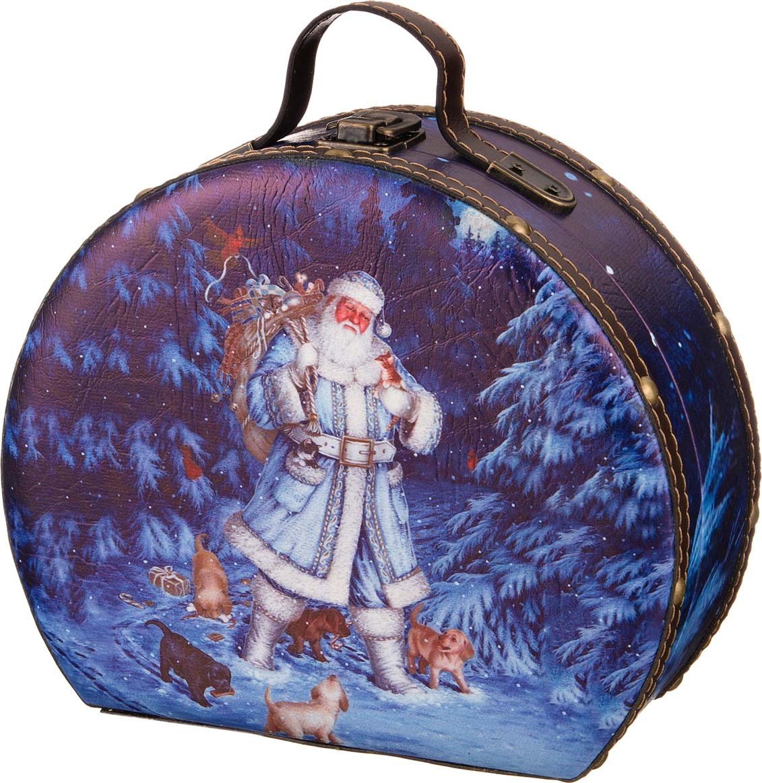 Фото - Шкатулка Lefard Зимний лес, 41-412, разноцветный, 22 х 18,5 х 10 см шкатулка с фоторамкой lefard happy kid 222 711