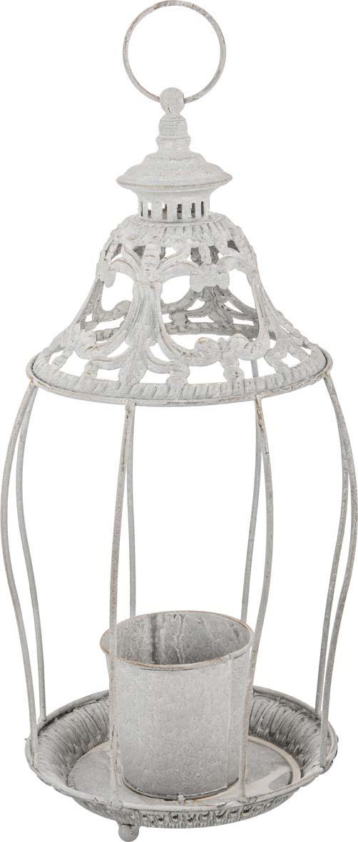 Подсвечник Lefard Фонарь, 123-198, серебристый, 20 х 48 см подсвечник фонарь 24 5х38 см