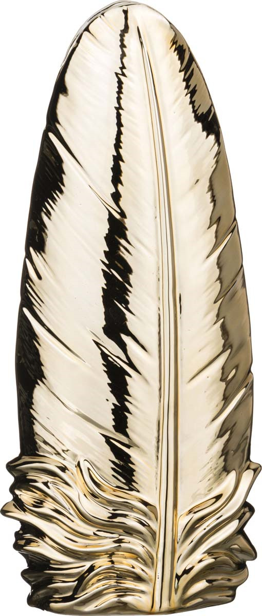 Ваза Lefard Перо, 146-598, 13.9 х 7.9 х 32.5 см ваза lefard подсолнух цвет коричневый 27 х 27 х 19 5 см