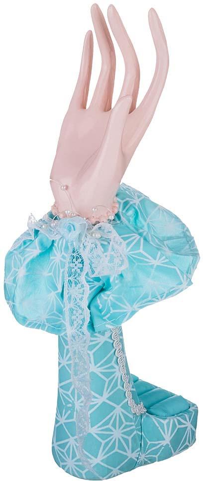 "Подставка Lefard ""Марни"", 200-285, под украшения, голубой, 17 х 7 х 23 см"