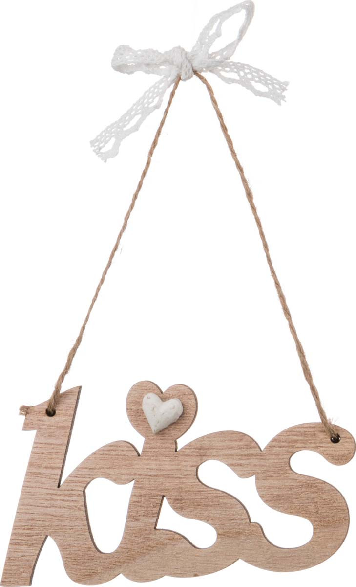 Украшение для интерьера Arti-M Kiss, 206-133, золотой ваза arti m 882 058 золотой высота 18 см