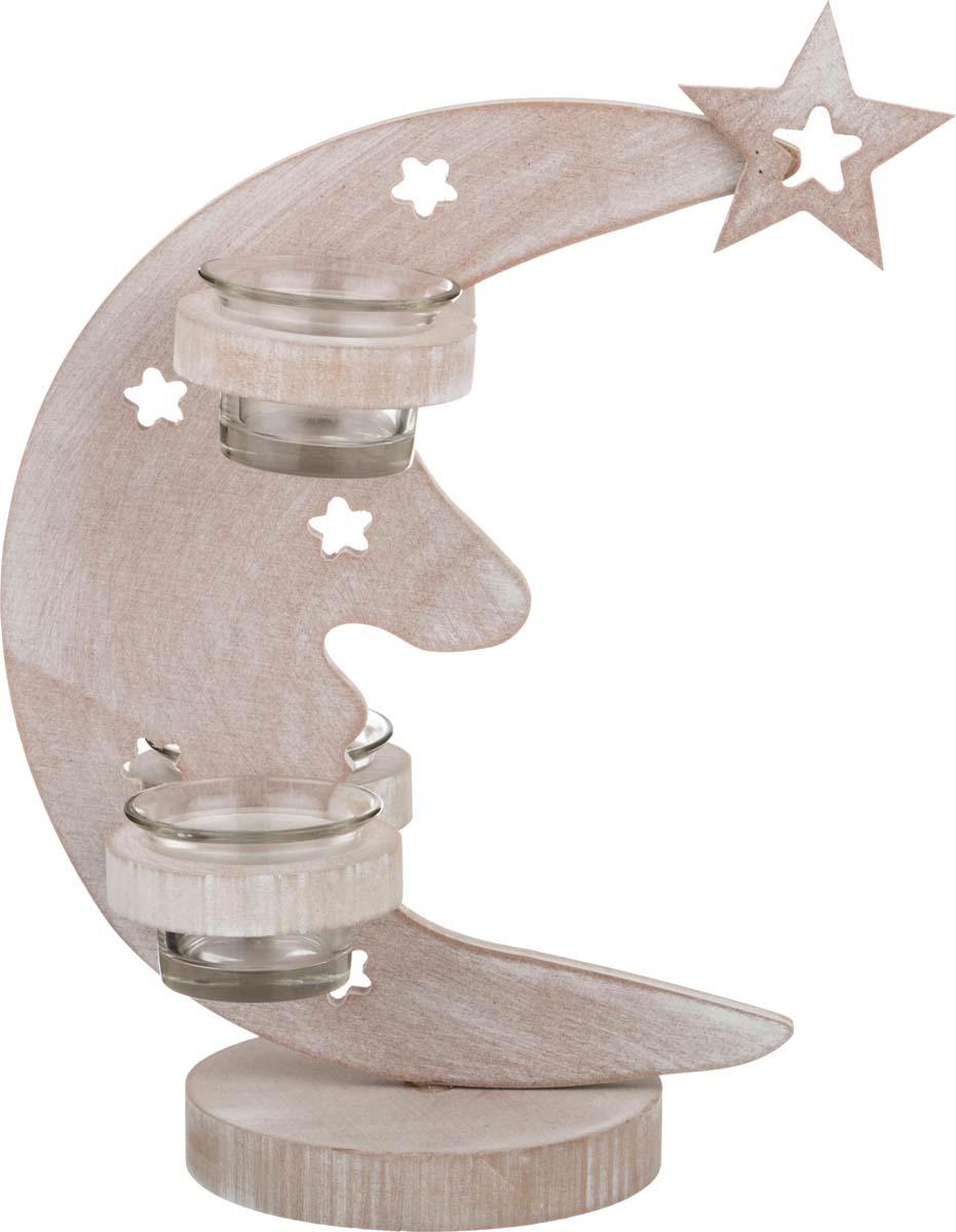 Подсвечник Lefard, 206-218, 4-х рожковый, серый, 10 х 23 х 32 см цены онлайн