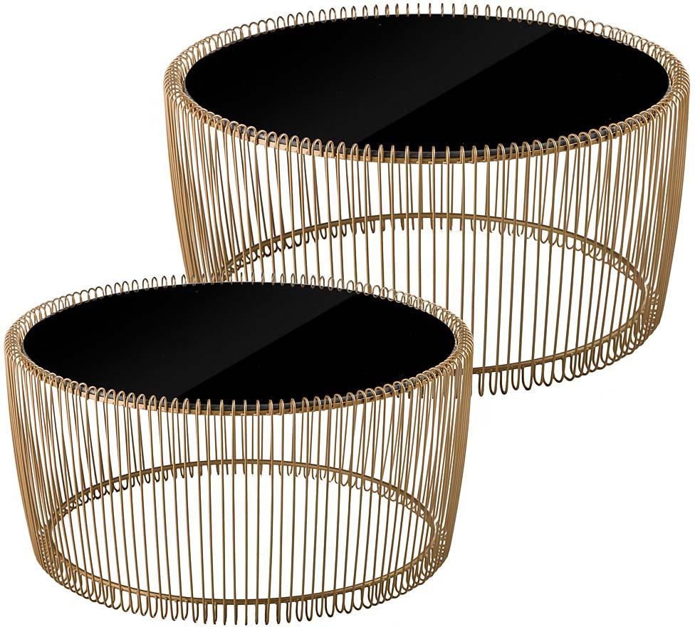 Набор дизайнерских подставок Lefard,TOY16-1108, золотистый, черный, 90 х 90 х 45 см, 2 предмета телевизор 90 х