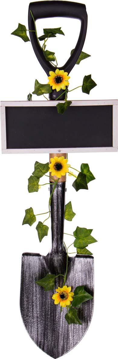 Украшение для интерьера Lefard Лопата с табличкой, 222-291, разноцветный украшение для интерьера lefard телефонная будка с дедом морозом 865 395 красный 10 х 10 х 25 см