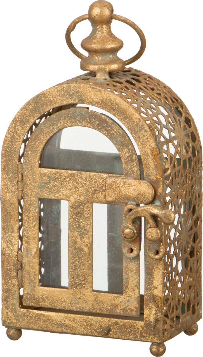 Подсвечник Lefard, 223-023, золотой, 9 х 5,5 х 17,5 см223-023Подсвечник Lefard - альянс стиля и красивого дизайна.Прекрасно подойдет в качестве подарка.