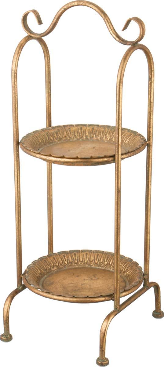 Этажерка Lefard, 223-046, коричневый, 23,5 х 22 х 60.5 см этажерка зми ладья 2 3 ярусная цвет черный 44 х 25 х 69 5 см