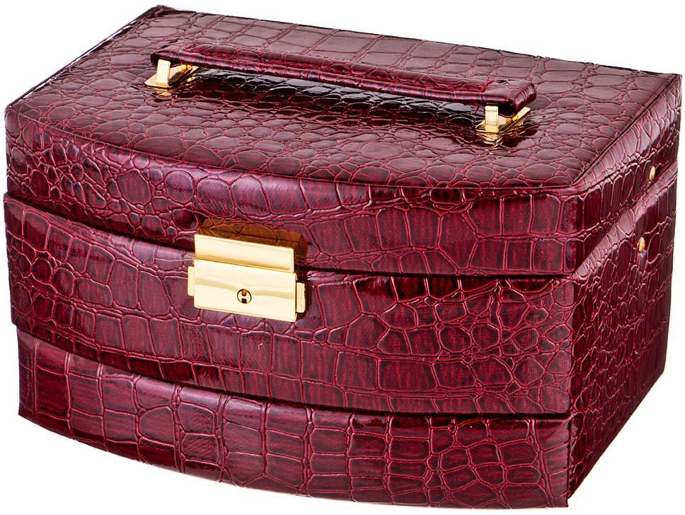 Фото - Шкатулка для украшений Lefard, 362-102, коричневый, 22 х 16 х 13,5 см шкатулка с фоторамкой lefard happy kid 222 711