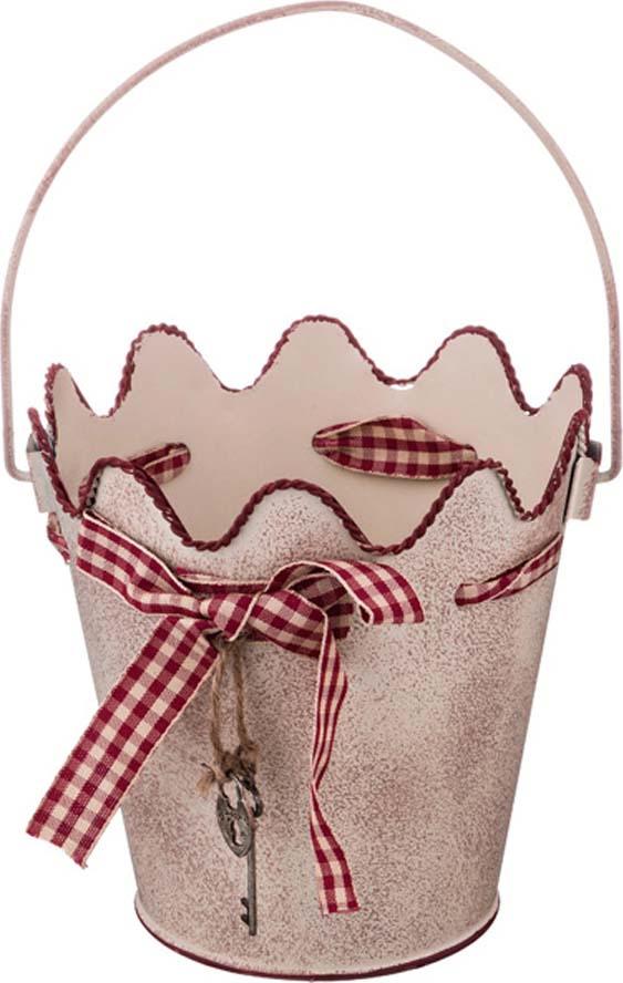 Кашпо Lefard Key, 736-512, розовый, 13 х 13 х 9 см кашпо lefard цвет розовый 14 х 14 х 13 см
