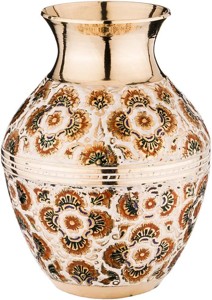 Ваза Lefard, 882-051, золотой, высота 15 см ваза arti m 882 058 золотой высота 18 см