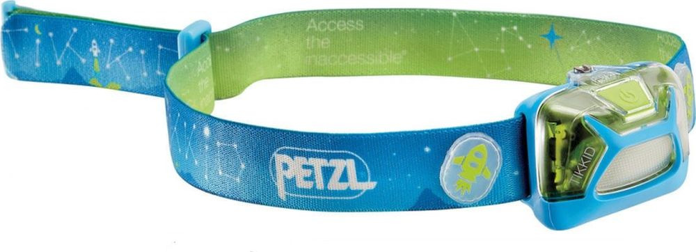Налобный фонарь Petzl Classic Tikkid, E091BA00, синий цена
