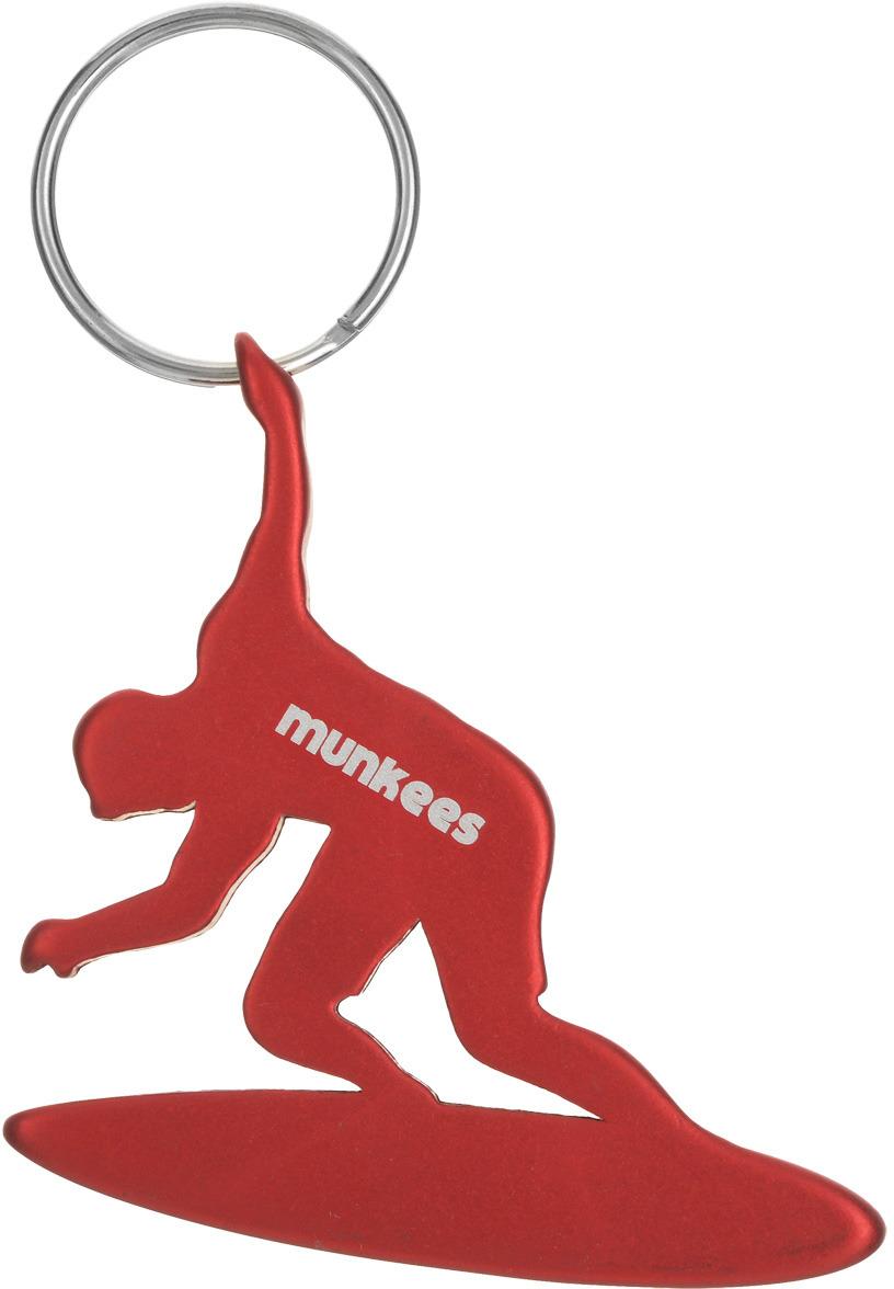 Брелок-открывалка Munkees Серфингист, цвет: красный брелок открывалка munkees стандартная цвет желтый
