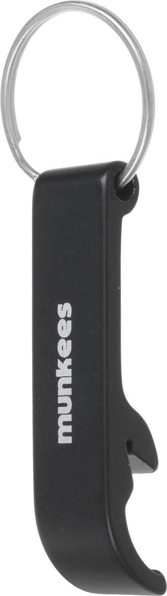 Брелок-открывалка Munkees Стандартная, цвет: черный