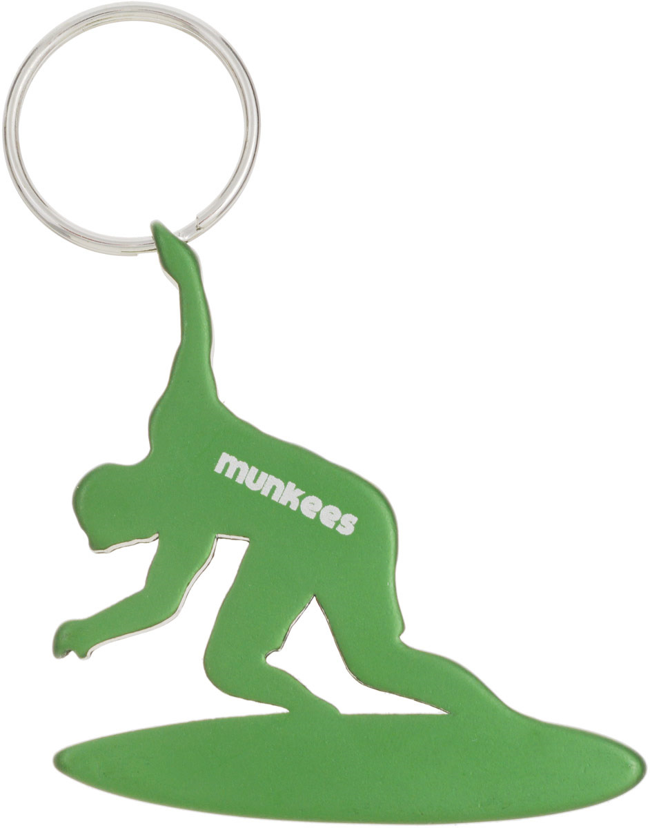 Брелок-открывалка Munkees Серфингист, цвет: зеленый брелок открывалка munkees стандартная цвет желтый